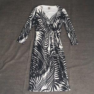 ANNE KLEIN Wrap Dress - Size 4
